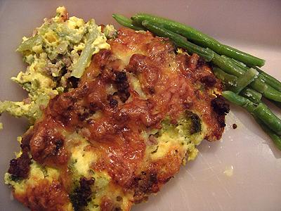 broccoli och köttfärs