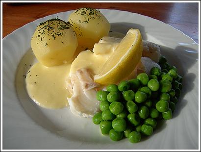 torsk potatis recept