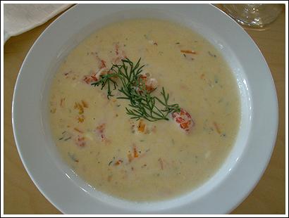 recept på soppa till förrätt